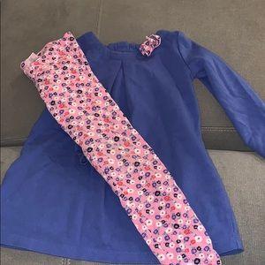 Gymboree Dress and Leggings